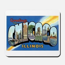 Chicago Illinois IL Mousepad