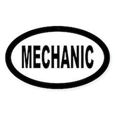 Mechanic Oval Decal
