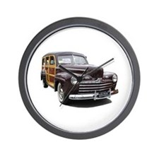 Helaine's Ford Woody Wall Clock