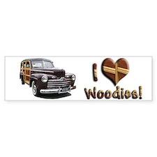 Helaine's Ford Woody Bumper Bumper Sticker