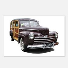 Helaine's Ford Woody Postcards (Package of 8)