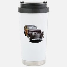 Helaine's Ford Woody Stainless Steel Travel Mug