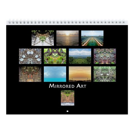 Mirrored Art 2009 Wall Calendar
