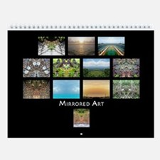 Mirrored Art 2009 Wall Calendar