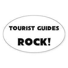 Tourist Guides ROCK Oval Sticker