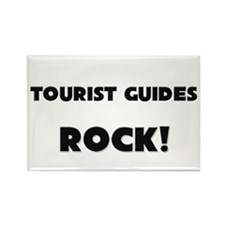 Tourist Guides ROCK Rectangle Magnet
