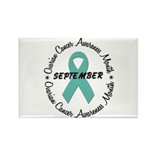 Ovarian Cancer Awareness Month 1.3 Rectangle Magne