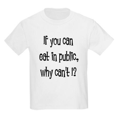 Eat in public Kids Light T-Shirt