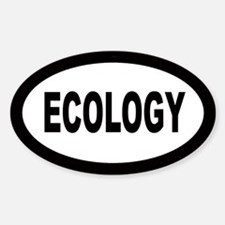 Ecology Oval Decal