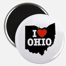 I Love Ohio Magnet