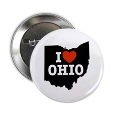 I Love Ohio Button