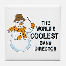 Coolest Director Tile Coaster