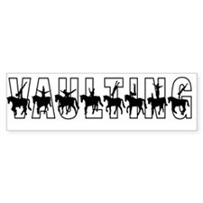 Vaulting Silhouettes Bumper Bumper Stickers