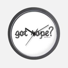 got rope? Wall Clock