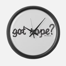 got rope? Large Wall Clock