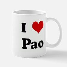 I Love Pao Mug