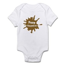 Poop Happens Infant Bodysuit