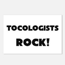 Tocologists ROCK Postcards (Package of 8)