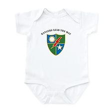 75th Ranger Regiment - Ranger Infant Bodysuit
