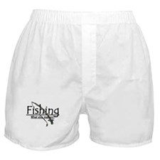 Fishing, What Else Matters Boxer Shorts