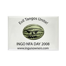 INGO NFA Day 2008 - Rectangle Magnet