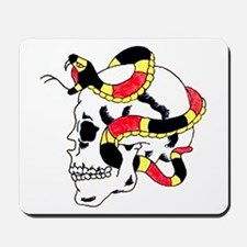 Snake Skull Tattoo Art Mousepad