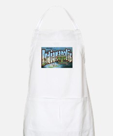 Indianapolis Indiana IN BBQ Apron