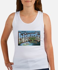 Indianapolis Indiana IN Women's Tank Top