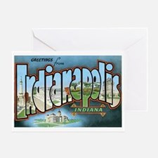 Indianapolis Indiana IN Greeting Card