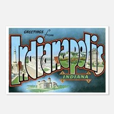 Indianapolis Indiana IN Postcards (Package of 8)