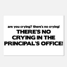 There's No Crying Principal's Office Postcards (Pa