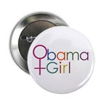 """Obama Girl 2.25"""" Button (10 pack)"""