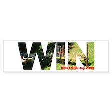 INGO NFA Day 2008 - WIN - Bumper Bumper Sticker