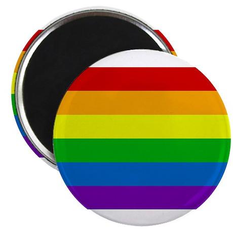 "Rainbow 2.25"" Magnet (10 pack)"