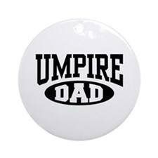 Umpire Dad Ornament (Round)