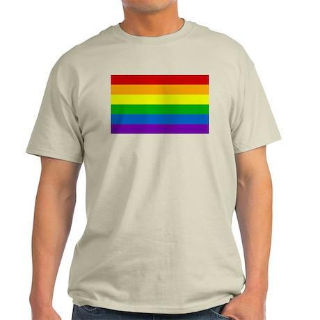 Rainbow Ash Grey T-Shirt
