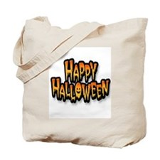 Happy Halloween Scary Tote Bag