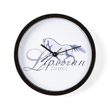 Lipizzan Horse Wall Clock
