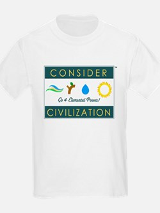 Consider Civilization T-Shirt