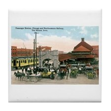 Des Moines Iowa IA Tile Coaster