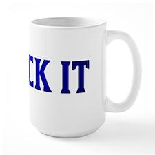 PHRASE-LICK IT-BLUE Mug