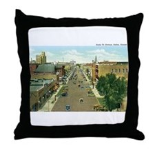 Salina Kansas KS Throw Pillow