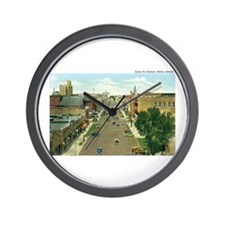 Salina Kansas KS Wall Clock