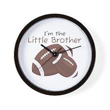 Football Little Brother Wall Clock