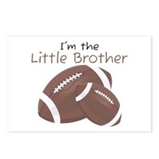 Football Little Brother Postcards (Package of 8)