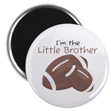 Football Little Brother Magnet