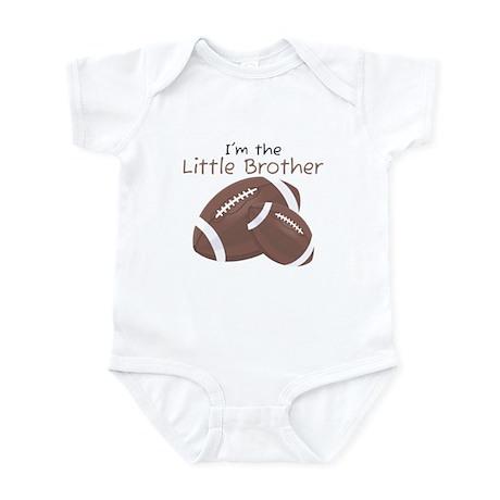 Football Little Brother Infant Bodysuit