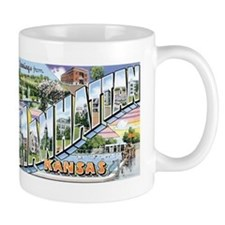 Manhattan Kansas KS Mug