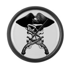 Jolly Roger Large Wall Clock