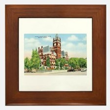 Newton Kansas KS Framed Tile